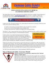 May is Motorcycle Safety Awareness Month - Idealease
