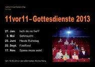 11vor11 Prospekt 2013 zum Ausdrucken (.pdf) - Ref. Kirchgemeinde ...