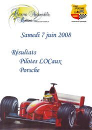 Untitled - Course automobile de romont