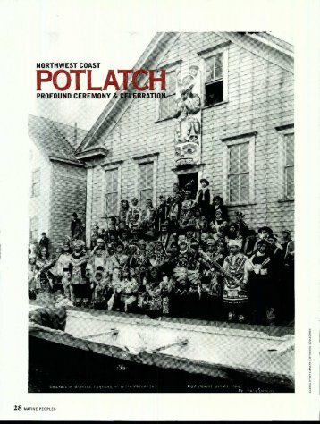 Reading Critique #3: Walker: Potlatch - San Diego Mesa College