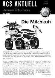 Mai 2013 - ACS Thurgau