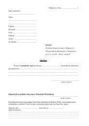 Podanie do Dziekana - warunkowy wpis (.pdf)