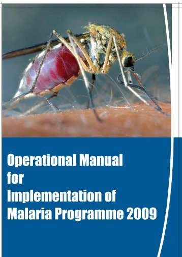 Operational Manual for Implementation of Malaria ... - NVBDCP