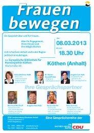 08.03.2013 18.30 Uhr - cdulsa.de: Startseite