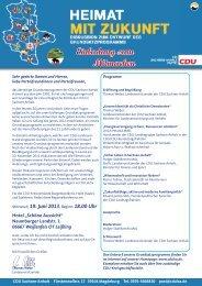 Einladung zum Mitmachen - cdulsa.de: Startseite