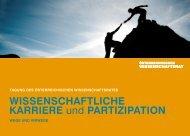 Programm - Österreichischer Wissenschaftsrat