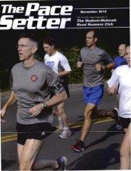 November 2010 - Hudson Mohawk Road Runners Club