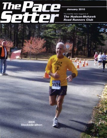 The Pace Setter January 2010 - Hudson Mohawk Road Runners Club