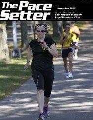 November 2012 - Hudson Mohawk Road Runners Club
