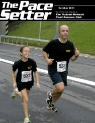 October 2011 - Hudson Mohawk Road Runners Club