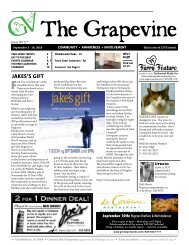 JAKES'S GIFT - The Grapevine