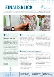 EINAUSBLICK Ausgabe 01 - Zukunft am Lech