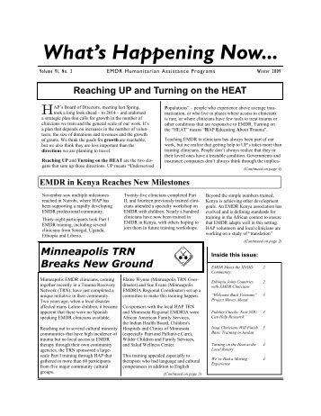 EMDR Newsletter Winter 2009.pub - EMDR Humanitarian ...