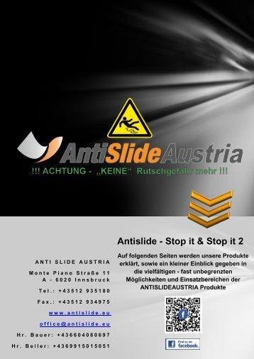Antislide - Stop it & Stop it 2