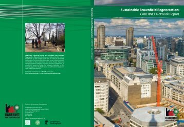 Sustainable Brownfield Regeneration: CABERNET Network Report