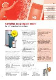 SolvisMax con pompa di calore.