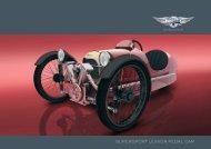 pedal car brochure - Morgan Motor Company
