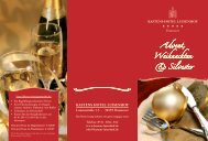 Weihnachtsflyer (PDF) - Hannover Locations