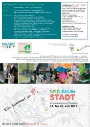 Flyer Spiel-Raum-Stadt (PDF)