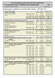 812 Masterstudium Anglistik und Amerikanistik 13S - aau.at