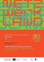 einladung forum 2011.pdf - Region Wels Land