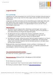 Beschreibung Jugend kocht 2012.pdf - Region Wels Land