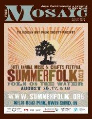 August 2013 Vol. 21 No. 2 - Mosaic