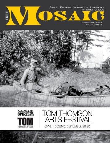 TOM THOMSON ARTS FESTIVAL - Mosaic