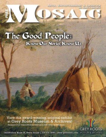 MARCH 2011 Vol. 18 No. 6 - Mosaic