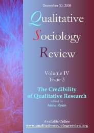 volume IV is 3 - Qualitative Sociology Review