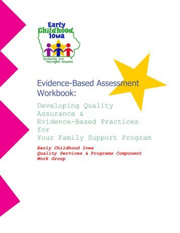 Evidence based assessment strategies