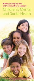 Children's Mental and Social Health - State of Iowa