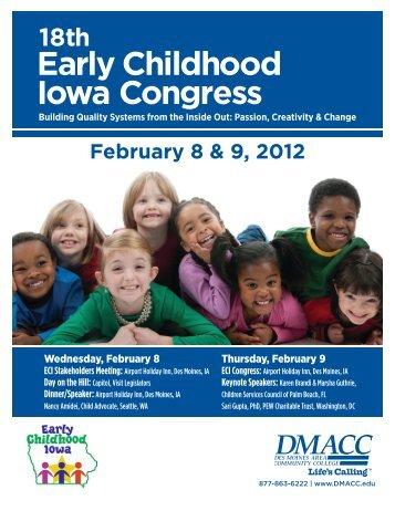 18th Early Childhood Iowa Congress