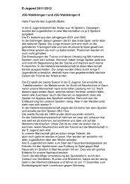 E-Jugend 2011/2012
