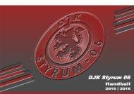 DJK Styrum 06 - Präsentationsmappe 2015/2016