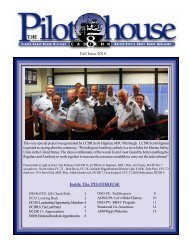 Fall Issue 2010 Inside The PILOTHOUSE - the District 8ER Web Site