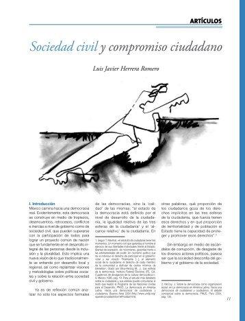 Sociedad civil y compromiso ciudadano