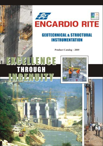 Product Catalog - 2009 - Encardio Rite