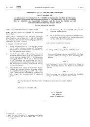 VERORDNUNG (EG) Nr. 1358/2007 DER KOMMISSION ... - EUR-Lex