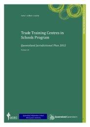 Trade Training Centres Jurisdictional Plan 2012.pdf - Queensland ...