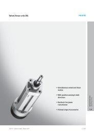 Swivel/linear units DSL - Tema