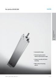 Flat cylinders EZH/DZF/DZH - Tema