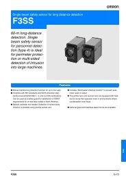 60-m long-distance detection. Single beam safety sensor for ... - Tema