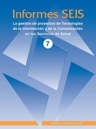 277KB - Sociedad Española de Informática de la Salud