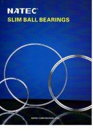Slim Ball Bearing Catalogue - Nachem.com.sg