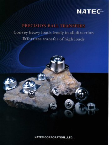Ball Transfer Unit Catalogue - Nachem.com.sg
