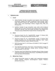 Laporan Hasil Pelaksanaan Pelatihan Advokat Tahun ... - PPID Polri