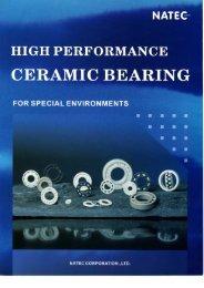 Ceramic Bearing Catalogue - Nachem.com.sg