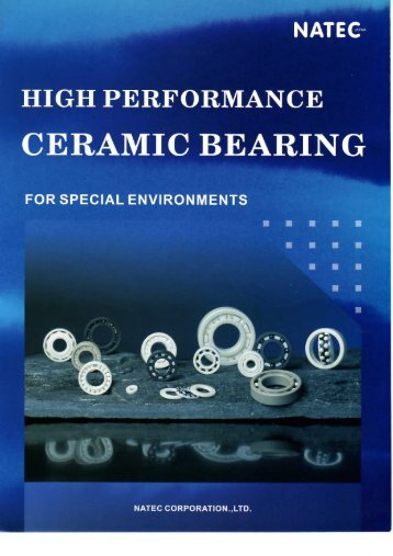 Ceramic Bearing Catalogue - Nachem.com.sg
