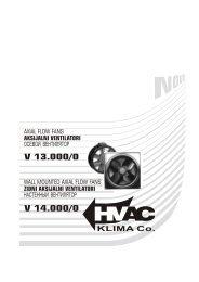 Zidni aksijalni ventilatori V 13000/0 - TDM